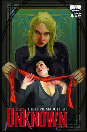UNKNOWN DEVIL MADE FLESH #4 - Kings Comics