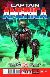 CAPTAIN AMERICA VOL 7 #2 NOW