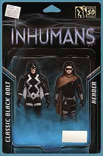 UNCANNY INHUMANS #3 CHRISTOPHER ACTION FIGURE VAR