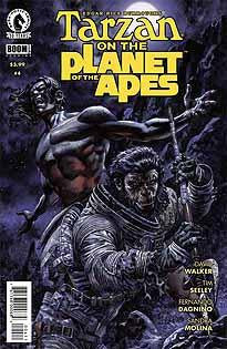 TARZAN ON THE PLANET OF THE APES #4