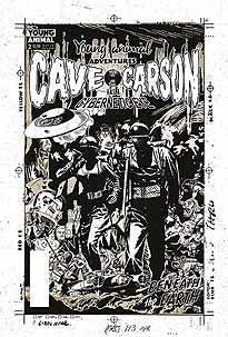 CAVE CARSON HAS A CYBERNETIC EYE #3 VAR ED