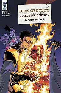 DIRK GENTLY SALMON OF DOUBT #3 - Kings Comics