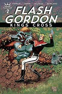 FLASH GORDON KINGS CROSS #2