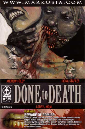 DONE TO DEATH #5 - Kings Comics