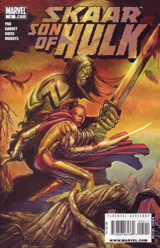 SKAAR SON OF HULK #5