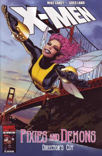 X-MEN PIXIES & DEMONS DIRECTORS CUT