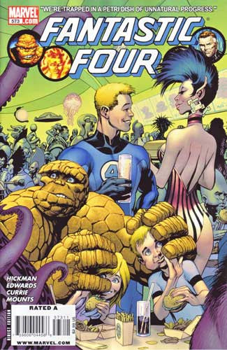 FANTASTIC FOUR VOL 3 #573