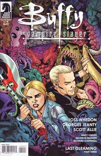BUFFY THE VAMPIRE SLAYER VOL 2 #38 LAST GLEAMING PART 3 JEANTY CVR