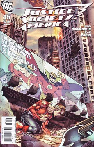 JUSTICE SOCIETY OF AMERICA VOL 3 #45 - Kings Comics