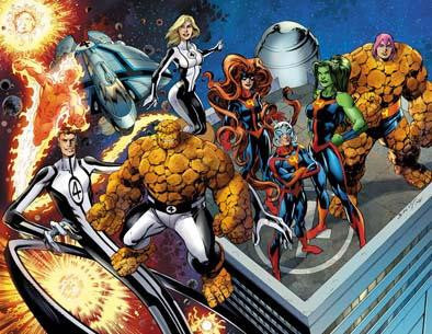 FANTASTIC FOUR VOL 4 #1 BAGLEY CONNECTING VAR NOW