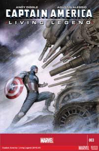 CAPTAIN AMERICA LIVING LEGEND #3