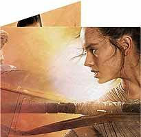 STAR WARS REY PORTRAIT MIGHTY WALLET