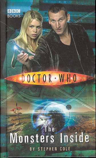 DOCTOR WHO MONSTERS INSIDE HC NOVEL