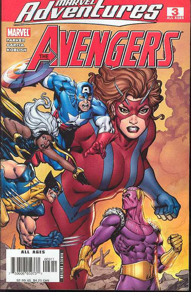 MARVEL ADVENTURES AVENGERS #3