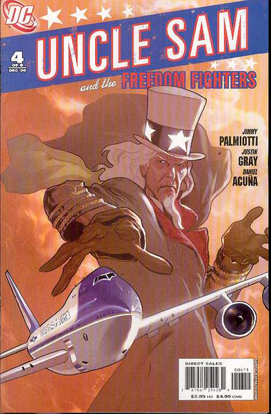 UNCLE SAM AND THE FREEDOM FIGHTERS #4