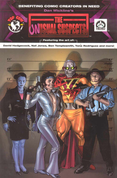UNUSUAL SUSPECTS ORIGINAL GN - Kings Comics