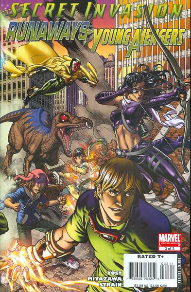SECRET INVASION RUNAWAYS YOUNG AVENGERS #3