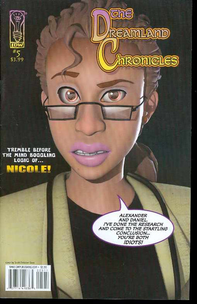 DREAMLAND CHRONICLES IDW #5