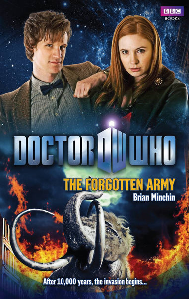 DOCTOR WHO FORGOTTEN ARMY HC NOVEL