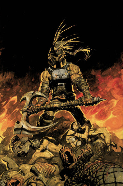 SAVAGE AXE OF ARES #1