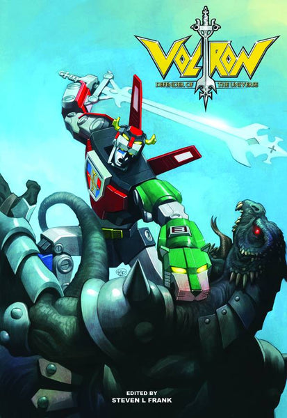 VOLTRON DEFENDER UNIVERSE OFFICIAL ART BOOK HC