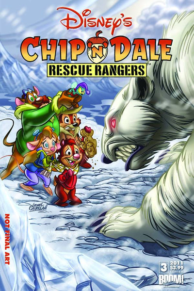 CHIP N DALE RESCUE RANGERS #3