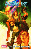 RUNAWAYS TP VOL 04 TRUE BELIEVERS DIGEST NEW PTG