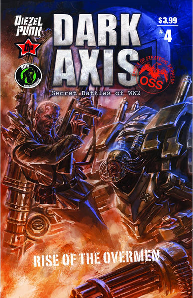 DARK AXIS RISE O/T OVERMEN #4 - Kings Comics