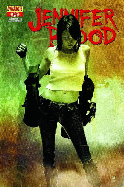 GARTH ENNIS JENNIFER BLOOD #14