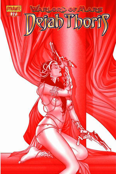 WARLORD OF MARS DEJAH THORIS #17 10 COPY RENAUD RED INCV