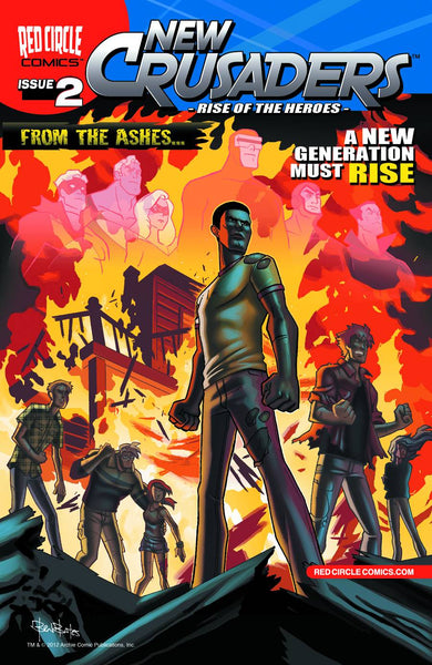 NEW CRUSADERS RISE OF THE HEROES #2 - Kings Comics
