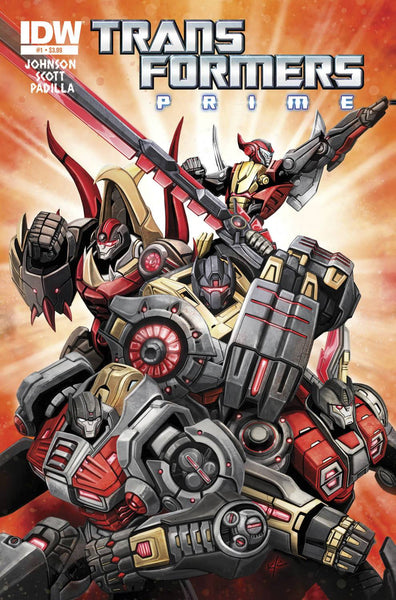TRANSFORMERS PRIME RAGE O/T DINOBOTS #1