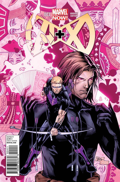 A PLUS X #3 TAN VAR NOW - Kings Comics