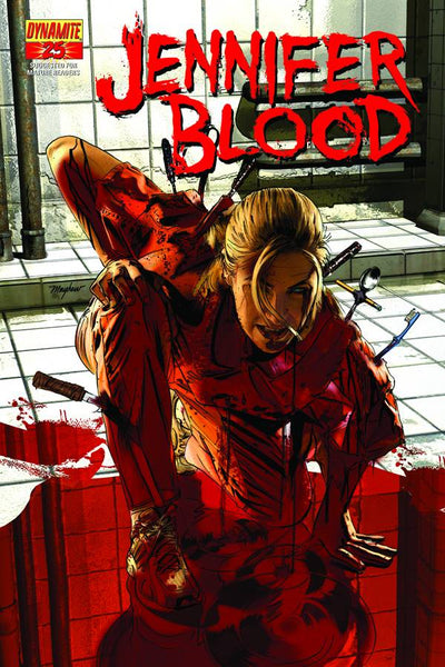 GARTH ENNIS JENNIFER BLOOD #25