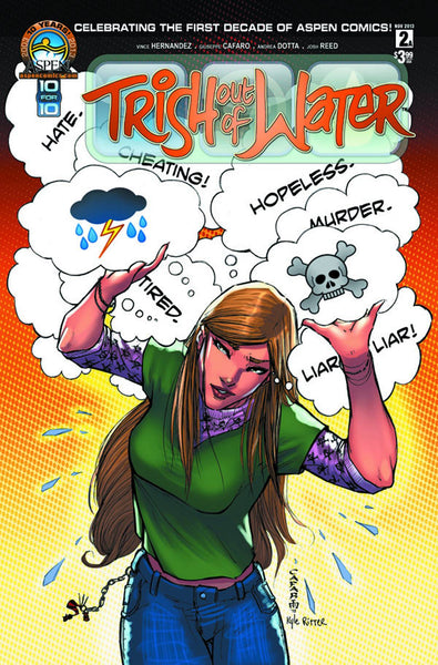 TRISH OUT OF WATER #2 DIRECT MARKET CVR - Kings Comics