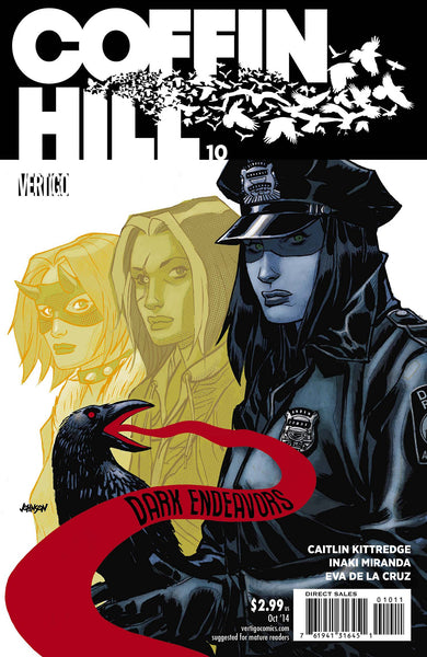 COFFIN HILL #10 - Kings Comics