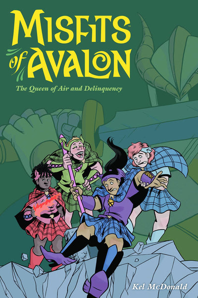 MISFITS OF AVALON TP VOL 01 QUEEN OF AIR AND DELINQUENCY - Kings Comics