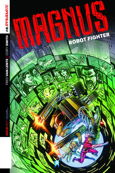 MAGNUS ROBOT FIGHTER VOL 4 #8 SMITH EXC SUBSCRIPTION VAR - Kings Comics