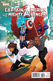 CAPTAIN AMERICA AND MIGHTY AVENGERS #3 RICHARDSON VAR AXIS - Kings Comics