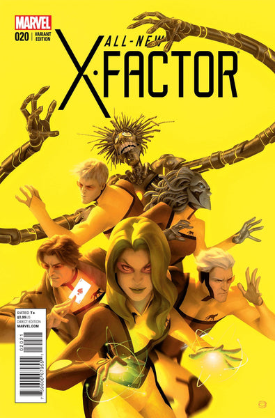 ALL NEW X-FACTOR #20 FINAL ISSUE VAR