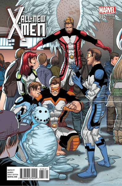 ALL NEW X-MEN #35 LARROCA WELCOME HOME VAR