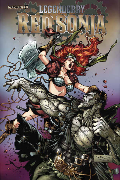 LEGENDERRY RED SONJA #3