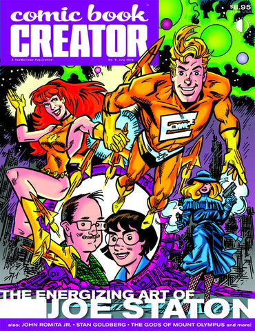 COMIC BOOK CREATOR #9