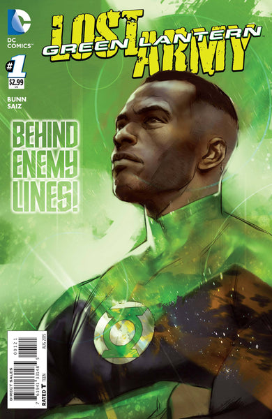 GREEN LANTERN THE LOST ARMY #1 VAR ED
