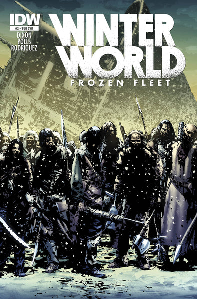 WINTERWORLD FROZEN FLEET #2 SUBSCRIPTION VAR