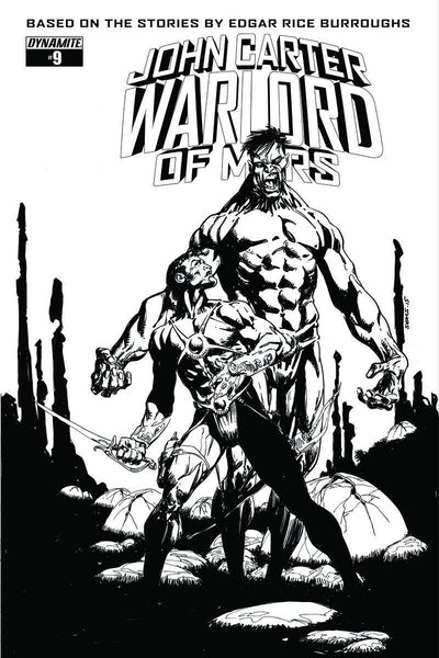 JOHN CARTER WARLORD #9 10 COPY SEARS INCV
