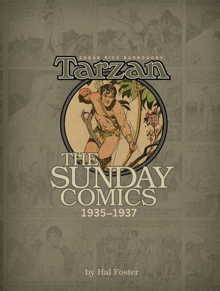 BURROUGHS TARZAN SUNDAY COMICS 1935-1937 HC VOL 03 - Kings Comics