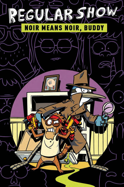 REGULAR SHOW ORIGINAL GN VOL 02 NOIR MEANS NOIR BUDDY