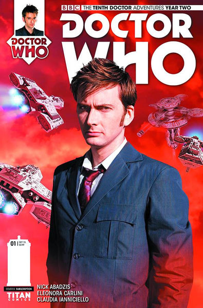 DOCTOR WHO 10TH YEAR TWO #1 SUBSCRIPTION PHOTO