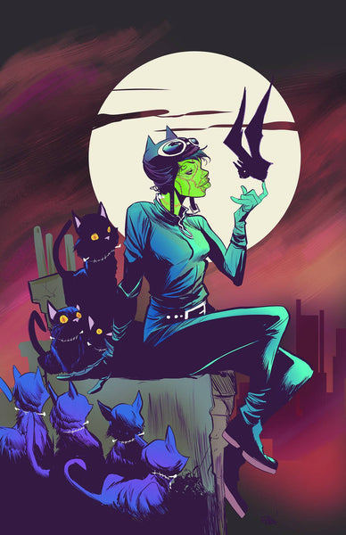 CATWOMAN VOL 4 #45 MONSTERS  VAR ED